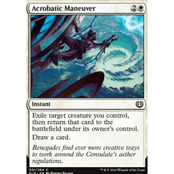 Magic löskort: Kaladesh: Acrobatic Maneuver (foil)