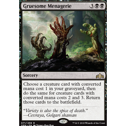 Magic löskort: Guilds of Ravnica: Gruesome Menagerie