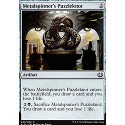 Magic löskort: Kaladesh: Metalspinner's Puzzleknot