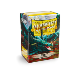 Card Sleeves Standard Mint (100 in box) (Dragon Shield)