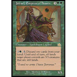 Magic löskort: Prophecy: Jolrael, Empress of Beasts