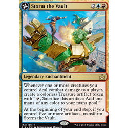 Magic löskort: Rivals of Ixalan: Storm the Vault