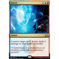 Magic löskort: Guilds of Ravnica: Ionize