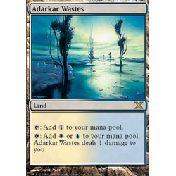Magic löskort: 10th Edition: Adarkar Wastes