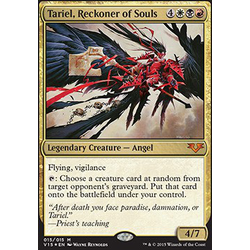 Magic löskort: Angels: Tariel, Reckoner of Souls