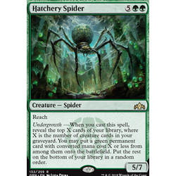 Magic löskort: Guilds of Ravnica: Hatchery Spider