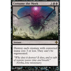 Magic löskort: Rise of the Eldrazi: Consume the Meek