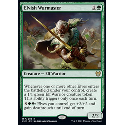 Magic löskort: Kaldheim: Elvish Warmaster