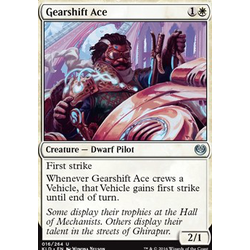 Magic löskort: Kaladesh: Gearshift Ace