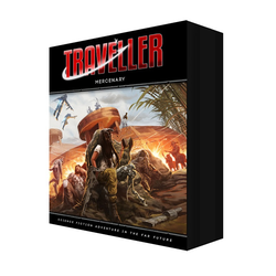 Traveller 4th ed: Mercenary box set
