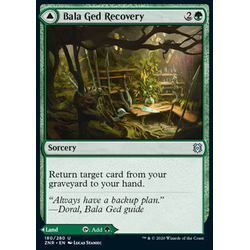 Magic löskort: Zendikar Rising: Bala Ged Recovery // Bala Ged Sanctuary