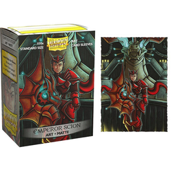 "Card Sleeves Standard Art ""Emperor Scion: Portrait"" 63x88mm (100 in box) (Dragon Shield)"