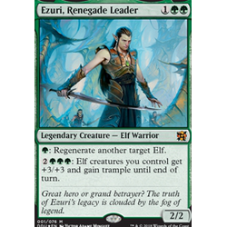 Magic löskort: Duel Decks: Elves vs Inventors: Ezuri, Renegade Leader (Foil)