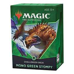 Magic The Gathering: Challenger Deck 2021 Mono Green Stompy