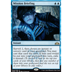 Magic löskort: Guilds of Ravnica: Mission Briefing