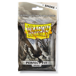 Card Sleeves Perfect Fit Smoke (100) (Dragon Shield)