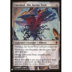 Magic löskort: The List: Emrakul, the Aeons Torn