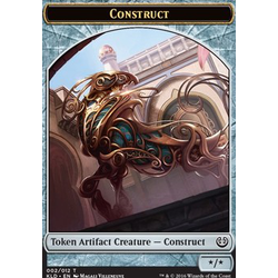 Magic löskort: Kaladesh: Construct Token v. 1