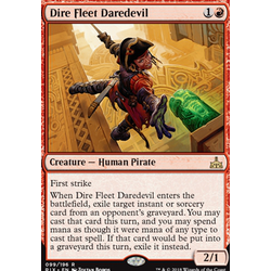 Magic löskort: Rivals of Ixalan: Dire Fleet Daredevil