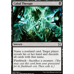 Magic löskort: Eternal Masters: Cabal Therapy