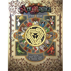 Ars Magica 5th ed: Rulebook
