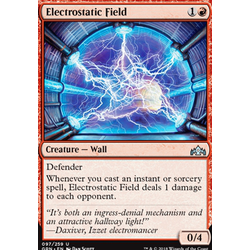Magic löskort: Guilds of Ravnica: Electrostatic Field
