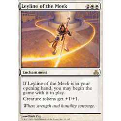 Magic löskort: Dissension: Leyline of the Meek