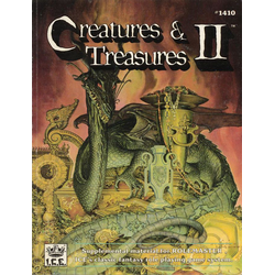 Rolemaster Creatures & Treasures II