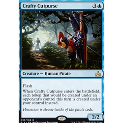 Magic löskort: Rivals of Ixalan: Crafty Cutpurse