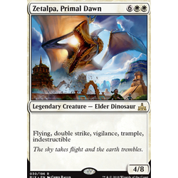 Magic löskort: Rivals of Ixalan: Zetalpa, Primal Dawn