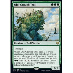 Magic löskort: Kaldheim: Old-Growth Troll