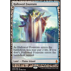 Magic löskort: Expeditions: Hallowed Fountain