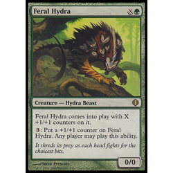 Magic löskort: Shards of Alara: Feral Hydra