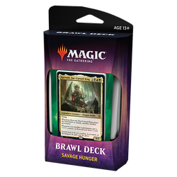 Magic The Gathering: Throne of Eldraine Brawl Deck - Savage Hunger