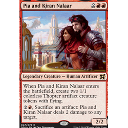 Magic löskort: Duel Decks: Elves vs Inventors: Pia and Kiran Nalaar
