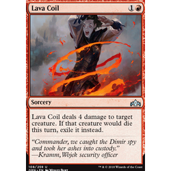 Magic löskort: Guilds of Ravnica: Lava Coil