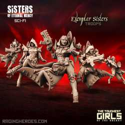 Sisters of Eternal Mercy: Exemplar Sisters - Troops