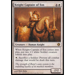 Magic löskort: Shards of Alara: Knight-Captain of Eos