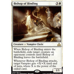 Magic löskort: Rivals of Ixalan: Bishop of Binding