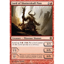 Magic löskort: Rise of the Eldrazi: Lord of Shatterskull Pass