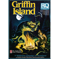 Runequest, 3d Ed: Griffin Island, Box, 1986