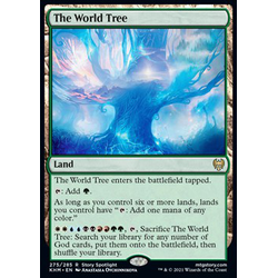 Magic löskort: Kaldheim: The World Tree