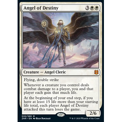 Magic löskort: Zendikar Rising: Angel of Destiny