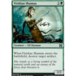 Magic löskort: Duel Decks: Elves vs Inventors: Viridian Shaman