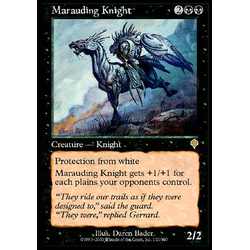 Magic löskort: Invasion: Marauding Knight