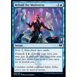 Magic löskort: Kaldheim: Behold the Multiverse
