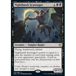Magic löskort: Zendikar Rising: Nighthawk Scavenger