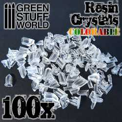 Green Stuff World -  Small Crystals transparent colorable