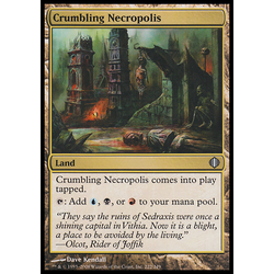 Magic löskort: Shards of Alara: Crumbling Necropolis