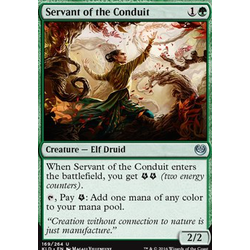 Magic löskort: Kaladesh: Servant of the Conduit